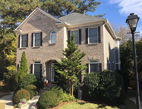 Brookhaven Exterior House Painting