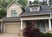 Brookhaven, GA exterior paint project.